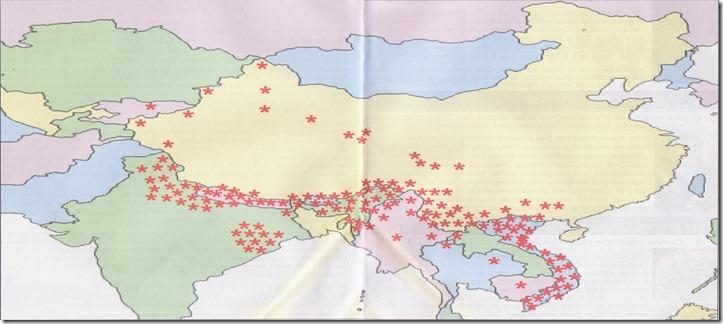 carte groupes humains